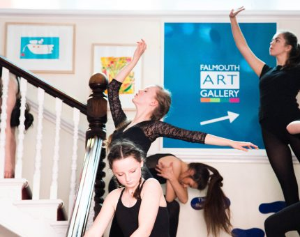 creative collaborations at Falmouth Art Gallery