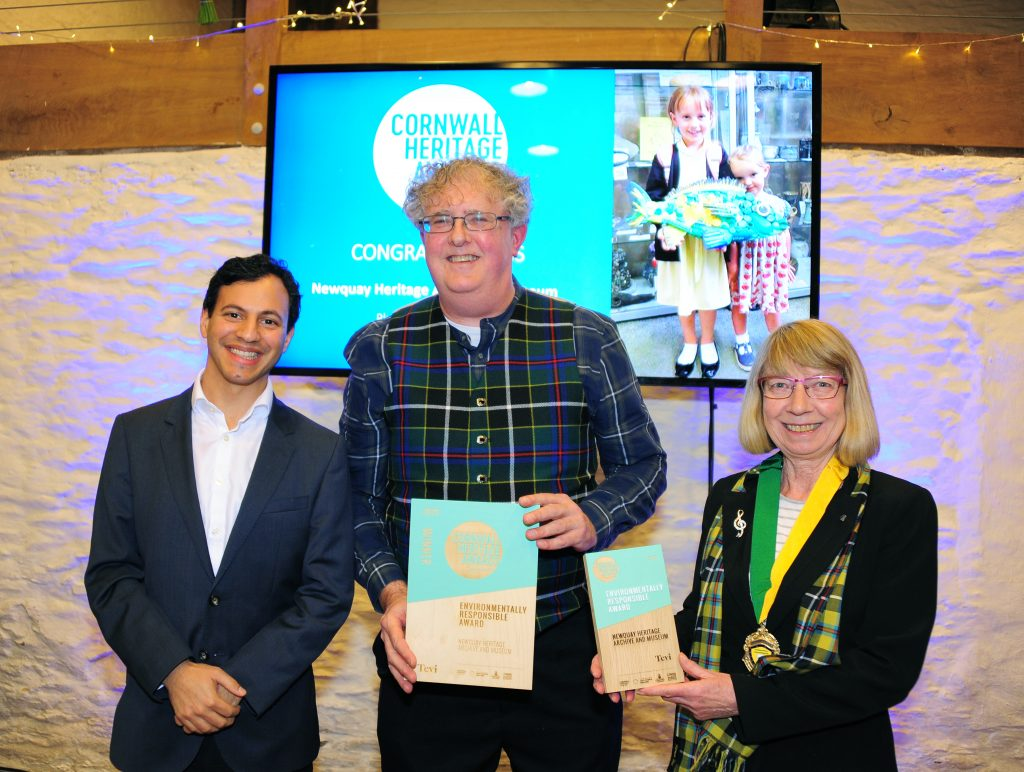 A photograph of Newquay Heritage Archive and Museum, winners of the Environmentally Responsible Award.