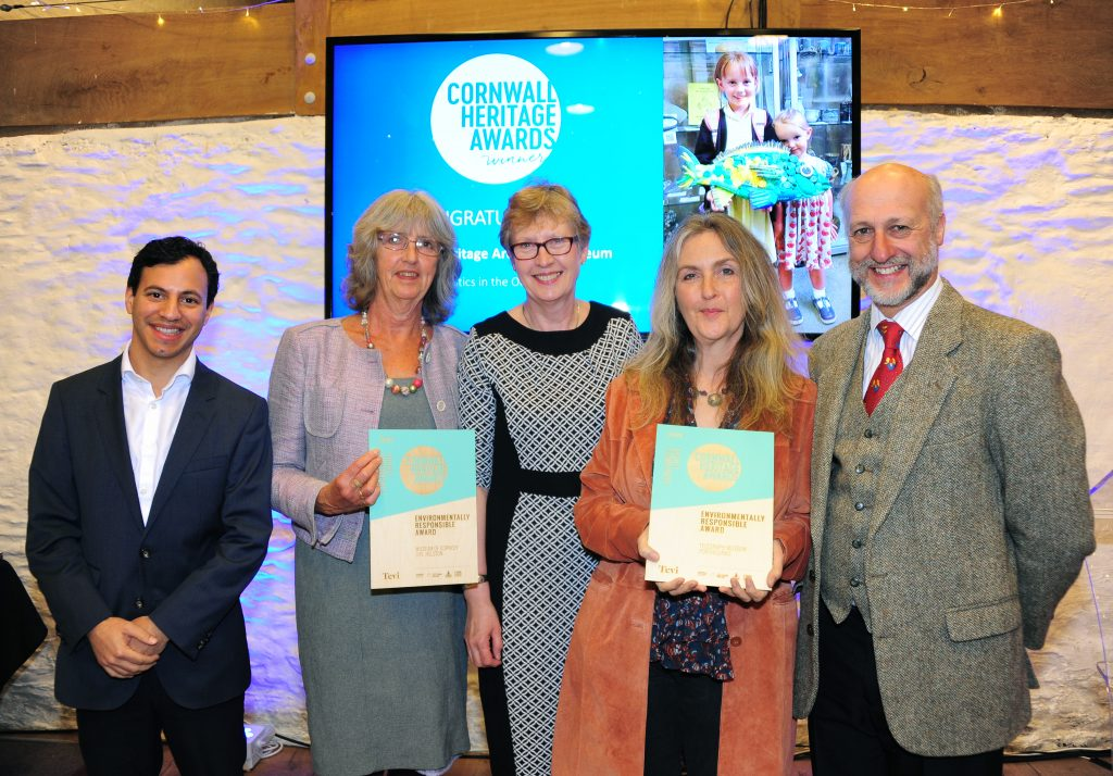 A photograph of Museum of Cornish LIfe, Helston and Telegraph Museum Porthcurno highly commended in the Environmentally Responsible Award.