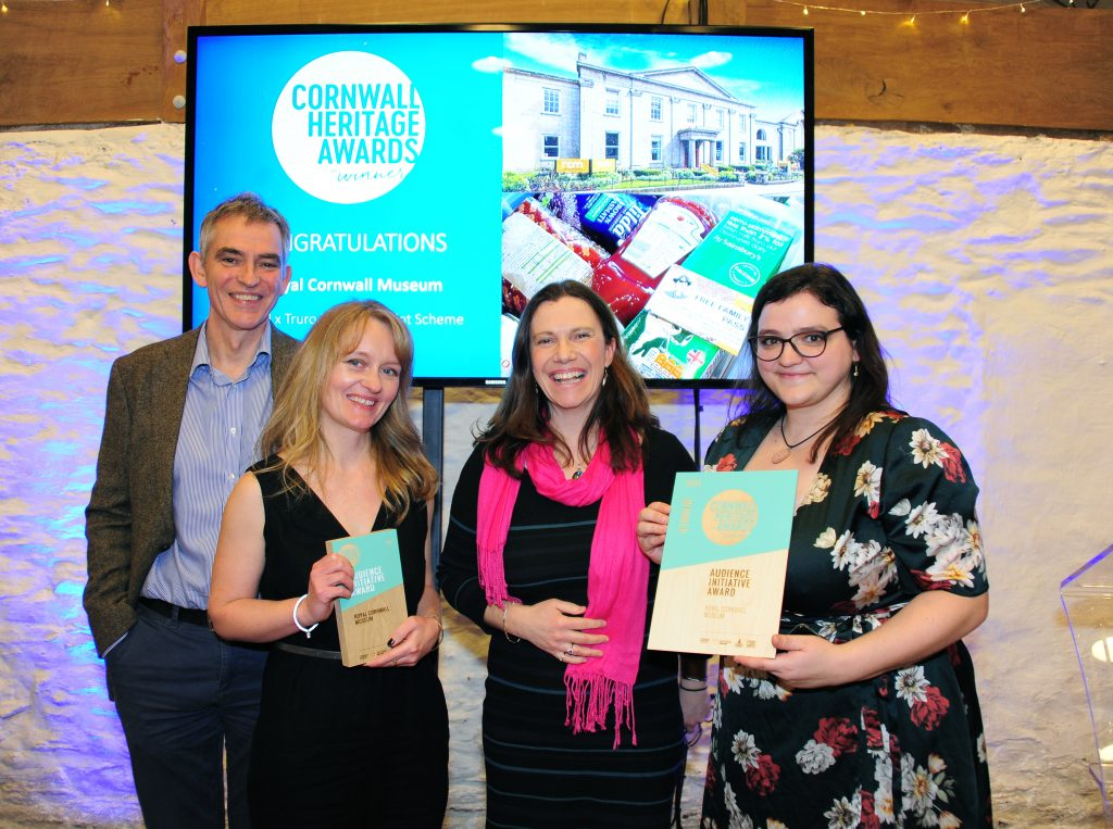 Royal Cornwall Museum, winners of the Audience Initiative Award.