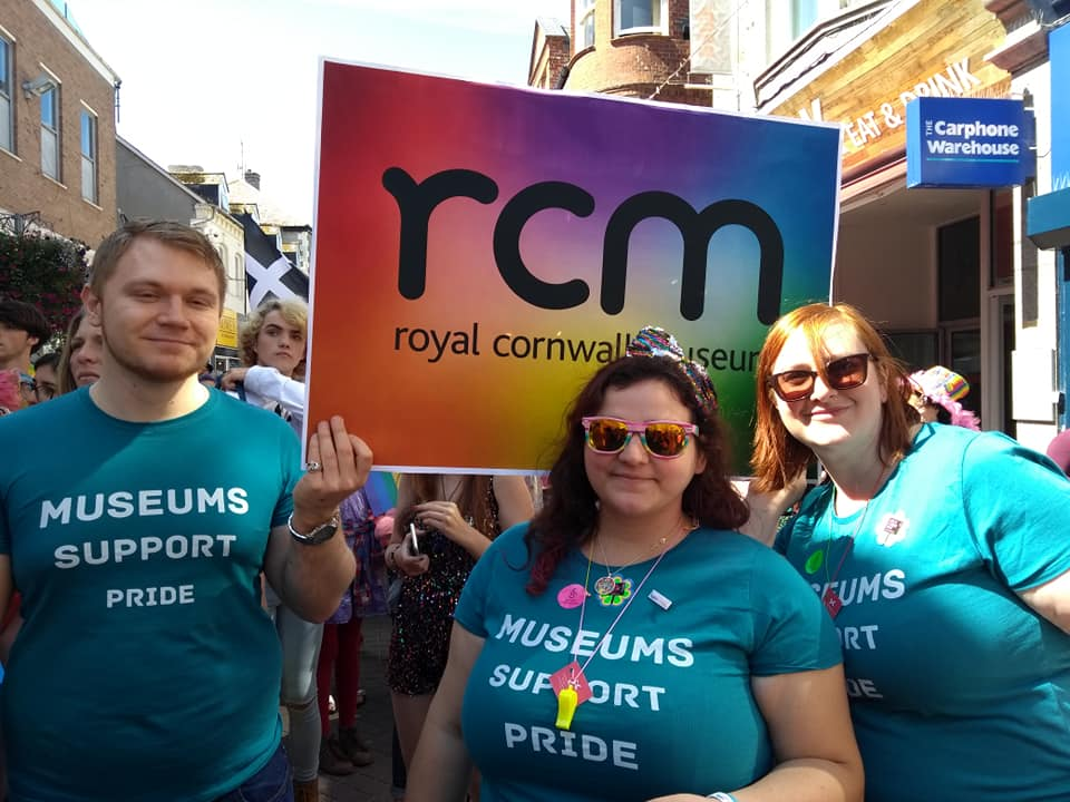 Royal Cornwall Museum at Cornwall Pride 2018