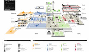 Natural History Museum map